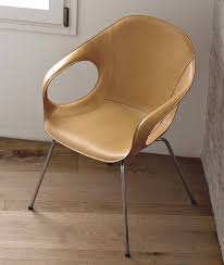kristalia elephant hide chairs leather dining room ultra modern