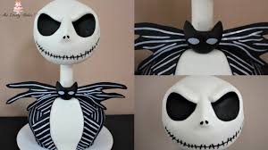 jack skellington the nightmare before christmas halloween cake