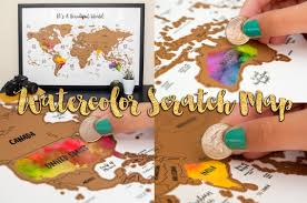 Etsy World Map by Etsy Travel Themed Gift Guide Seattle U0027s Travels