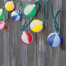 beach ball string lights novelty party lights