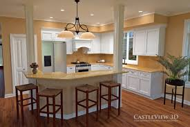 Architectural Design Kitchens by Kitchen Architectural Renderings From Castleview3d Com