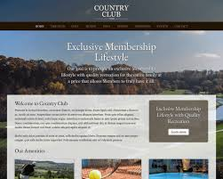 country club wordpress theme premium website template for