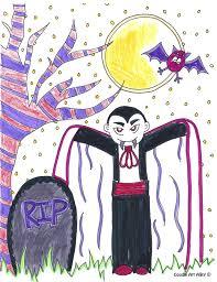 happy clean living halloween doodle art with the jolley u0027s