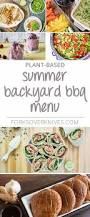 easy summer backyard bbq menu plant based vegan recipe