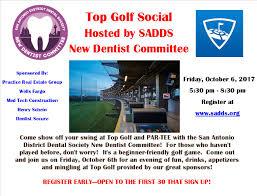 san antonio district dental society events