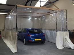 workshop dividers and industrial paint booth curtains suppliers uk