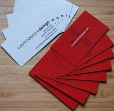 Red Business Cards 40 Various Red Business Card Designs Blueblots Com