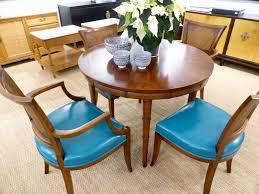michael thomas henredon faux bamboo dining table
