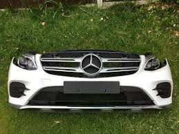mercedes led headlights 2017 mercedes w253 glc estate coupe bumper front panel led