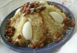 cuisine alg ienne couscous seffa ou couscous sucré cuisine algerienne cuisine