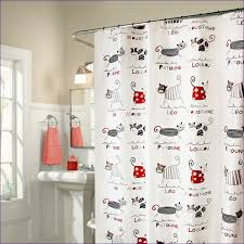 Primitive Curtain Tie Backs Bathroom Wonderful Art Deco Shower Curtain Fun Vinyl Shower
