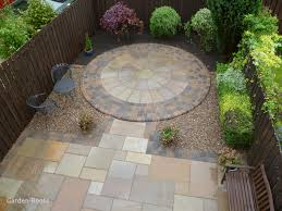 Small Garden Paving Ideas by Garden Design Ideas Circles Inspirational Small Patio Natural