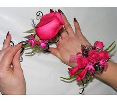 Red Prom Corsage Prom Delivery San Antonio Tx Blooming Creations Florist