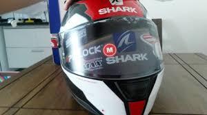 speed r sauer novo capacete na mão shark speed r sauer 2 royal 14