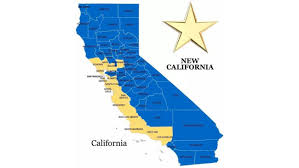 state map of california new california declares independence from california hopes to