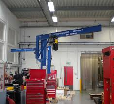 underbraced jib crane floor mounted cranes direct