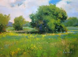 david forks texas landscape painter