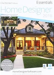 Amazon Chief Architect Home Designer Essentials 2018 DVD