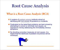 root cause analysis template 10 free download for pdf