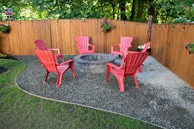 how to fire pit backyard thurston county landscaping beds and fire pit ajb landscaping