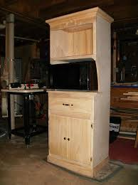 microwave cabinets with hutch microwave hutch by mike lumberjocks com woodworking community