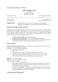 Military Resume Format Cover Letter Federal Government Resume Samples Federal Gov Resume