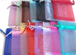 wholesale organza bags jkdm l wholesale organza bags 17x23cm drawable wedding gift bags