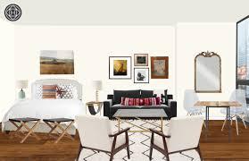 Restoration Hardware Madeline Chair by Modern Bohemian Living Room Design By Havenly Interior Designer