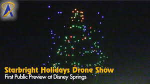disney drone light show first public showing of starbright holidays drone show at disney