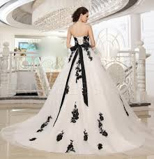 black and white wedding dress black and white wedding dresses plus size luxury brides