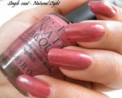opi nail lacquer silent mauvie u2013 review photos and notd u2013 corallista