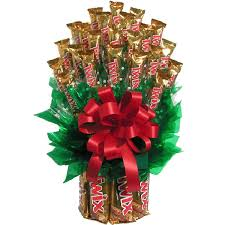 large all twix candy bouquet for students free ship