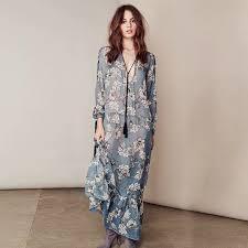 aliexpress com buy floral lace up maxi dress casual ruffle long