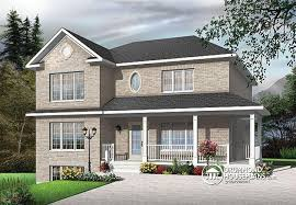 Multi Family House Plans Triplex Multi Family Plan W3031 V1 Detail From Drummondhouseplans Com