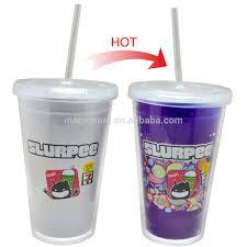 wholesale cheap hard plastic cup cold color changing 64oz plastic