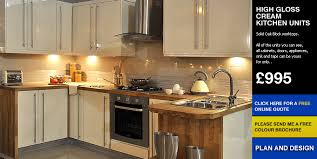 cheap kitchen doors uk buy fitted kitchen cheap kitchen high gloss cream kitchen for sale