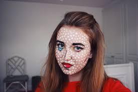 featured on laurenconrad com pop art halloween makeup tutorial