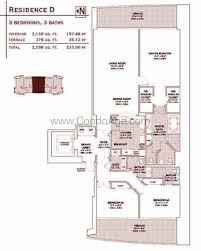 jade residence floor plans brickell bay miami florida