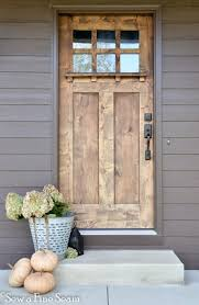 pleasurable front door exterior home deco contains strong wooden fall decor pumpkins hydrangea sticks from the yard and more