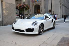porsche gold 2014 porsche 911 turbo s stock r274aaaa for sale near chicago