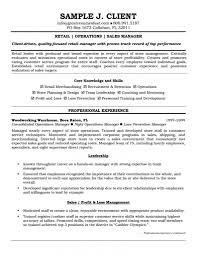 Resume Sample Jewelry Sales by Sample Resume Retail Virtren Com