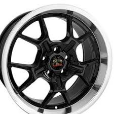 mustang replica wheels 18 inch fits ford mustang saleen aftermarket wheel black 18x9