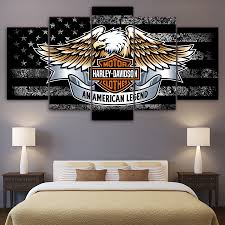 harley home decor online get cheap wall art motorcycle aliexpress com alibaba group