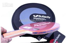butterfly table tennis racket 2018 new butterfly table tennis racket paddle tbc 502 with case fl