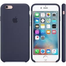 Basta Capa Apple iPhone 6 Plus Silicone MKXL2ZM/A Azul - Cellshop #BT01