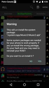where are apk files stored uninstalling android system apps with a non system app