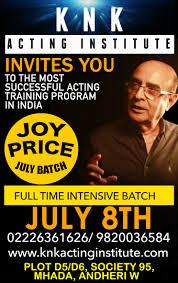top acting schools in mumbai kishore namit kapoor acting