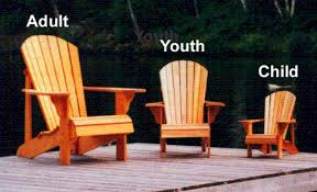 Outdoor Furniture Plans Pdf by Youth Size Adirondack Chair Plan Downloadable