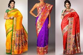 Drape A Sari This Diwali Wear A Paithani Saree What U0027s A Paithani Saree You Ask