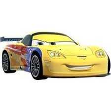 cars characters yellow disney racers 1 64 scale diecast car alice in wonderland mad hatter